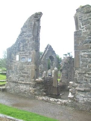 The Franciscan Friary of Donegal Ruins and Marker image. Click for full size.