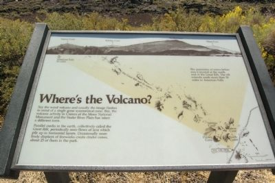 Where's the Volcano? Marker image. Click for full size.