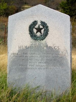 Hughes' Springs Texas Historical Marker image. Click for full size.