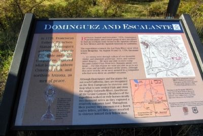 Dominguez and Escalante Marker image. Click for full size.