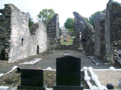 Donegal Friary Ruins image. Click for full size.