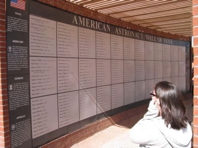 American Astronaut Wall of Fame image. Click for full size.
