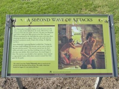 A Second Wave of Attacks Marker image. Click for full size.
