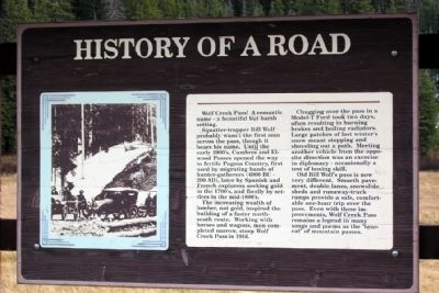 History of a Road Marker image. Click for full size.