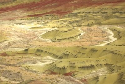 View from Painted Hills Overlook Trail image. Click for full size.