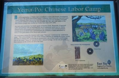Yem-Po: Chinese Labor Camp Marker image. Click for full size.