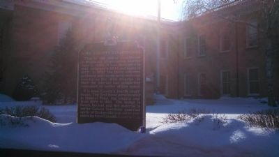 Iowa County Courthouse Marker image. Click for full size.