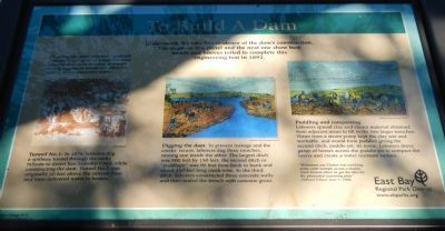 To Build a Dam Marker image. Click for full size.
