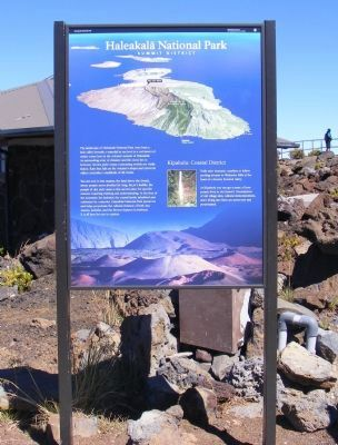 Haleakala National Park Marker image. Click for full size.