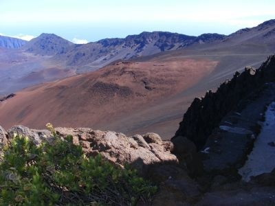 Haleakala National Park-Photo from the Visitor Center image. Click for full size.