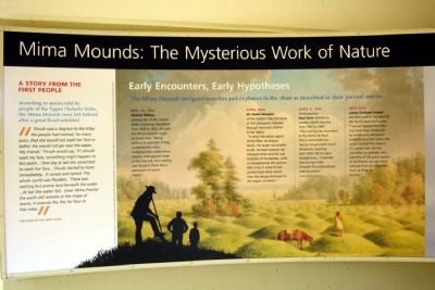 Mima Mounds: The Mysterious Work of Nature Marker image. Click for full size.