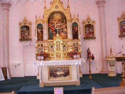 Holy Ghost Catholic Church-Main altar inside the church image. Click for full size.