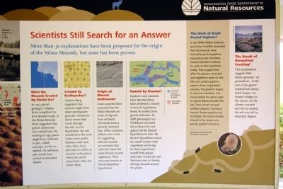 Scientists Still Search for an Answer Marker image. Click for full size.