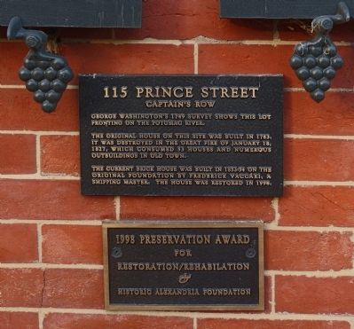 115 Prince Street Marker image. Click for full size.