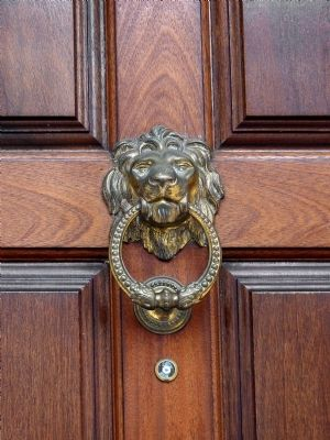Lion Knocker image. Click for full size.