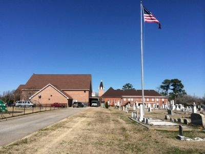 First Baptist Church of Abbeville & Cemetery image. Click for full size.