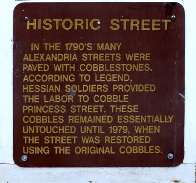 Historic Street Marker image. Click for full size.