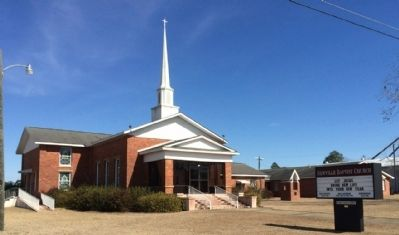 Newville Baptist Church image. Click for full size.
