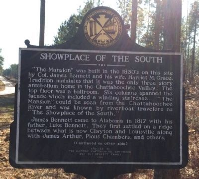 Showplace of the South Marker image. Click for full size.