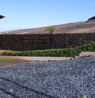 Pu'ukohola Heiau National Historic Site image. Click for full size.