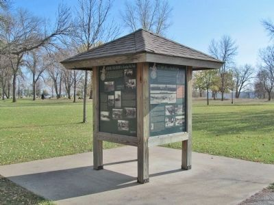 Working Year-Round to Develop the Park Marker image. Click for full size.