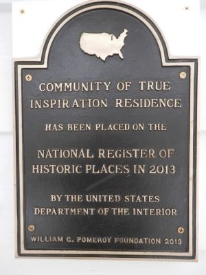 Community of True Inspiration Residence Marker image. Click for full size.