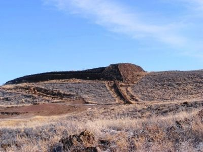 "The ruins of Pu'ukohola Heiau ""Temple on the Hill of the Whale"" image. Click for full size."
