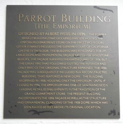 Parrot Building Marker image. Click for full size.