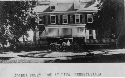 Joshua Pusey House image. Click for full size.