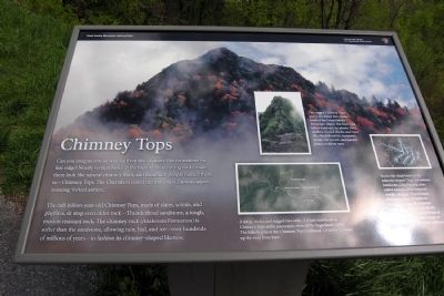 Chimney Tops Marker image. Click for full size.