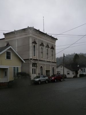 Ferndale Masonic Hall image. Click for full size.