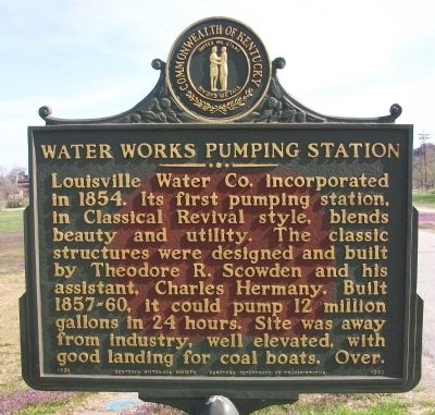 Water Works Pumping Station Marker image. Click for full size.