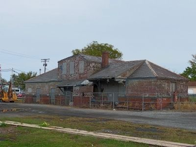 Baltimore & Ohio Railroad Station in Aberdeen image. Click for full size.