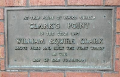 Clark�s Point Marker image. Click for full size.