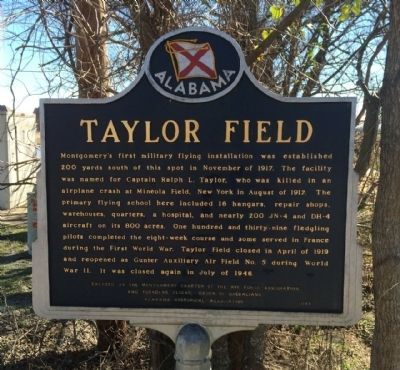 Taylor Field Marker image. Click for full size.
