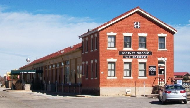 Orient-Santa Fe Freight Depot image. Click for full size.