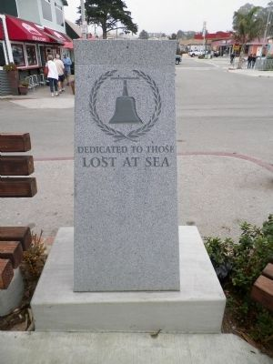 Lost at Sea Memorial Monument image. Click for full size.