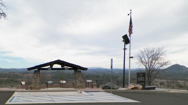 Amador County Veterans' Memorial image. Click for full size.