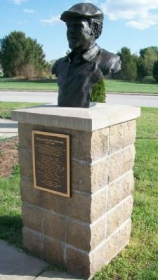 William Payne Stewart Marker and Bust image. Click for full size.