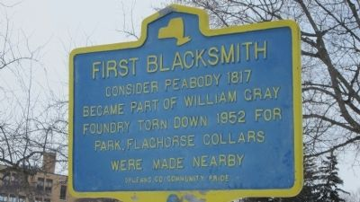 First Blacksmith Marker image. Click for full size.