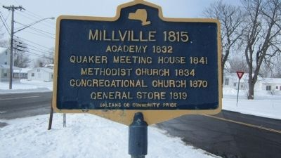 Millville 1815 Marker image. Click for full size.