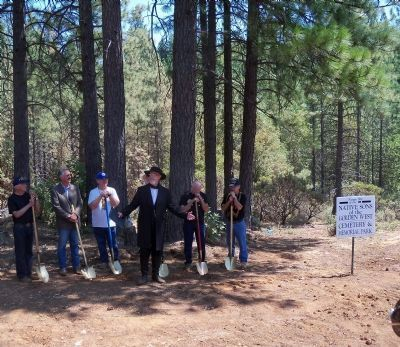 Ground Breaking of NSGW Cemetery & Memorial Park Photo, Click for full size