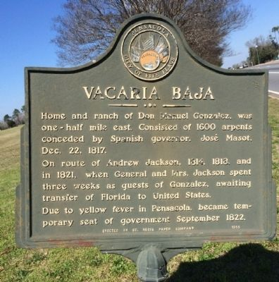 Vacaria Baja Marker image. Click for full size.