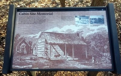 Cabin Site Memorial Marker image. Click for full size.