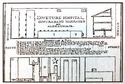 Plan of L'Oveture Hospital image. Click for full size.