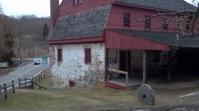 Colonial Gristmill image. Click for full size.