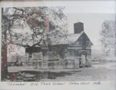 """Old Town"" School 1910 image. Click for full size."