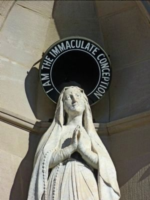 Saint Mary<br>I am the Immaculate Conception image. Click for full size.