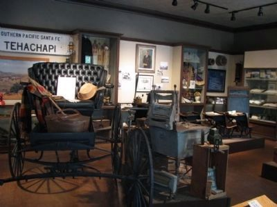Inside the Tehachapi Museum image. Click for full size.