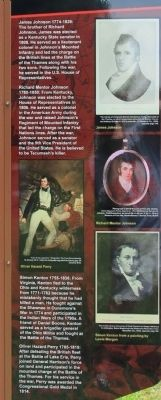 Participants in the Battle of the Thames Marker image. Click for full size.